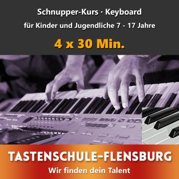 Schnupperkurs Keyboard Präsenz · Alter 7 - 17 Jahre
