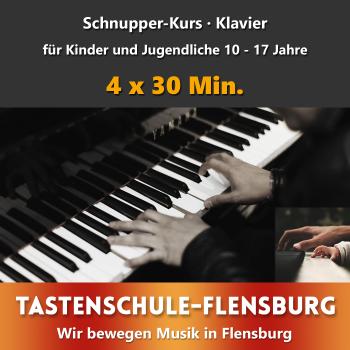 Schnupperkurs Klavier Präsenz · Alter 10 - 17 Jahre