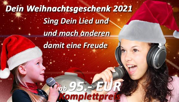 Verschenke ein Lied zu Weihnachten